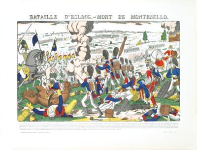 Bataille D'Esling- Mort De Montebello by Pellerin