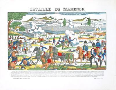 Bataille De La Marengo by Pellerin