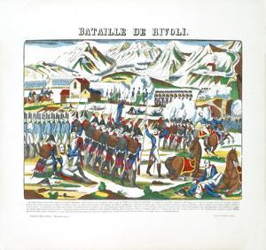 Napoleon-Bataille de Rivoli by Pellerin