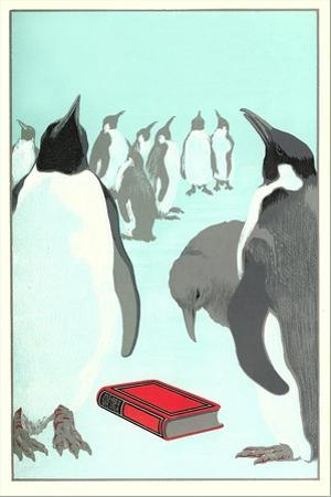 Penguins Discover a Book