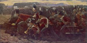 Peninsula War British Troops Under Wellington and General Picton Storm the Garrison at Badajoz