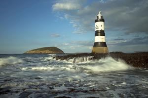 Penmon Lighthouse and Puffin Island August