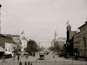Pennsylvania Ave. from Treasury, Washington, D.C.