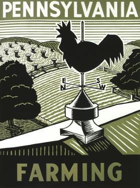 Pennsylvania Farming Weathervane