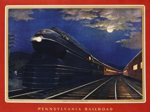 Pennsylvania Railroad, Leaders of the Fleet of Modernism by Grif Teller