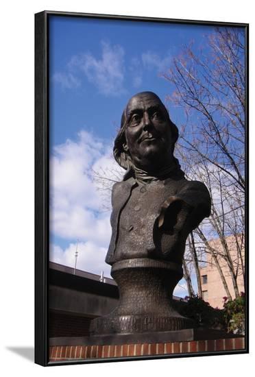 Penny Benjamin Franklin--Framed Art Print