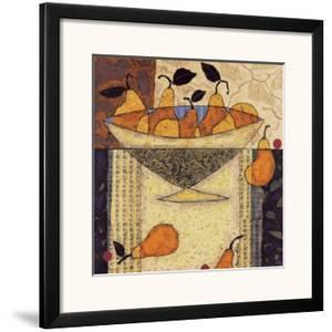 Asian Pears In Bowl by Penny Feder