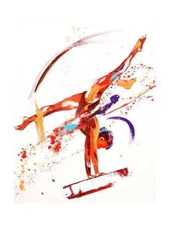 Gymnast One, 2010