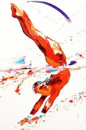 Gymnast Three, 2010 by Penny Warden