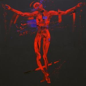 Jesus Dies on the Cross - Station 12 by Penny Warden