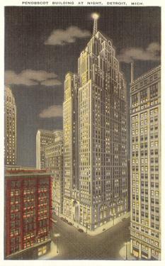 Penobscot Building, Detroit, Michigan
