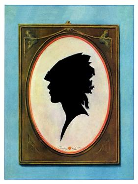 """""""A Silhouette,""""May 11, 1929 by Penrhyn Stanlaws"""