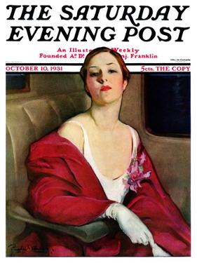 """""""An Evening Out,"""" Saturday Evening Post Cover, October 10, 1931 by Penrhyn Stanlaws"""