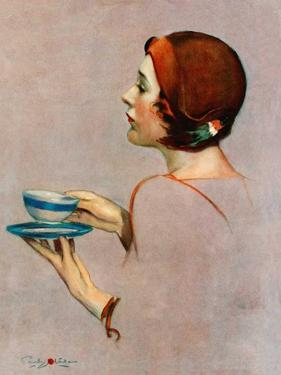 """""""Cup of Java,""""April 30, 1932 by Penrhyn Stanlaws"""