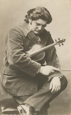 Pensive Man with Violin
