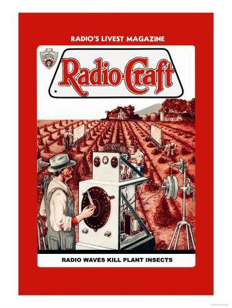 Radio-Craft: Radio Waves Kill Plant Insects