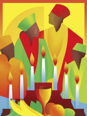 People Celebrating Kwanzaa