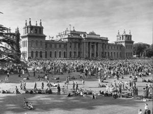 People Gathering at the Blenheim Palace Fete