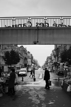 People in a Market, Marche Des Capucins, Bordeaux, Gironde, Aquitaine, France