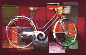 Red Bicycle by Pep Ventosa