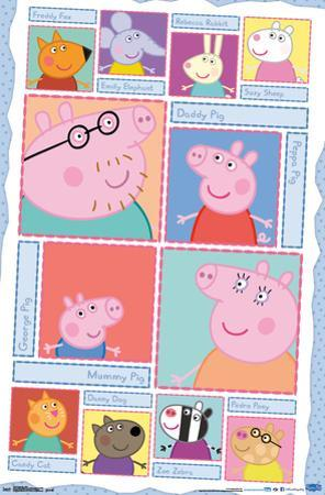 Peppa Pig- Character Grid