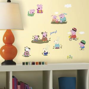 Peppa Pig Peel And Stick Wall Decals