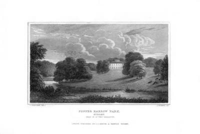 Pepper Harrow Park, Near Guildford, Surrey, 1829 by J Rogers