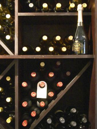Bottles in Wine Shop, O'Farrell Restaurant, Acassuso, Buenos Aires, Argentina by Per Karlsson