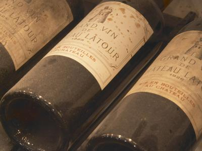 Chateau Latour from Pauillac, Medoc, Bordeaux, Ulriksdal Vardshus Restaurant, Stockholm, Sweden by Per Karlsson