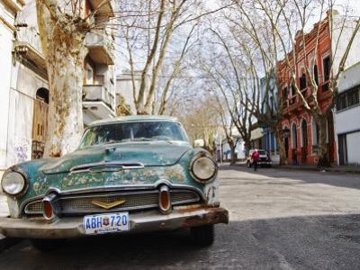 Desoto Station Wagon Car, Montevideo, Uruguay by Per Karlsson
