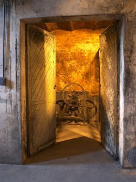 Entrance to Underground Wine Cellar, Bodega Juanico Familia Deicas Winery, Juanico by Per Karlsson