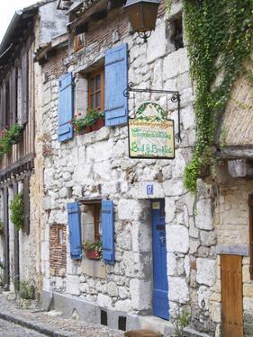 Old Town with Stone Houses, Le Colombier De Grando, Place De La Myrpe by Per Karlsson