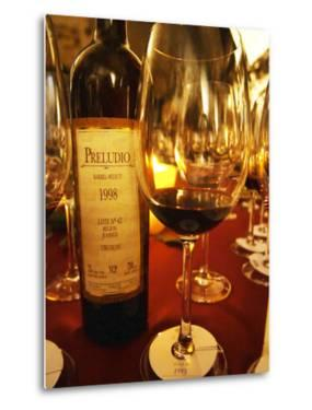 Preludio Barrel Select, Dining and Tasting Table, Bodega Juanico Familia Deicas Winery by Per Karlsson