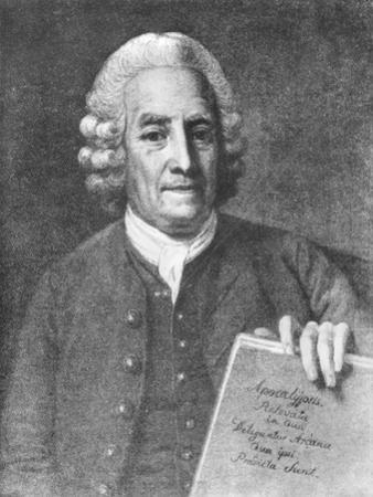 Emanuel Swedenborg by Per Krafft