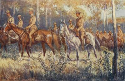 Citizen Soldiers Australia, a Cavalry Force in the Bush by Percy F.s. Spence