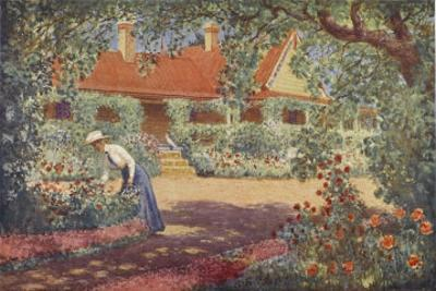 The Garden at Robundara an Early Australian Homestead by Percy F.s. Spence
