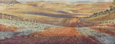 The Monaro Plains by Percy F.s. Spence