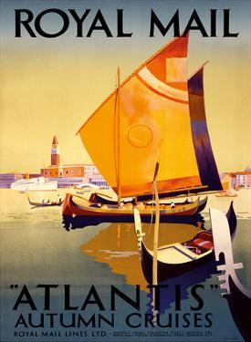 Atlantis Autumn Cruises - Royal Mail Ltd. by Percy Padden