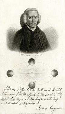 James Ferguson, Scottish Astronomer by Percy Roberts