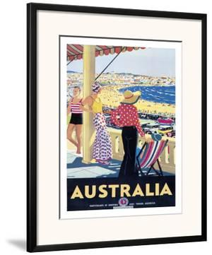 Australia Beach c.1929 by Percy Trompf