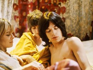 Performance, Anita Pallenberg, Michele Breton, Mick Jagger, 1970