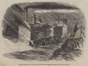 Perilous Transit of the Indian Mail Through the Inundated Districts of the South of France