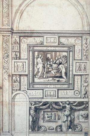 Project for a Wall Decoration of a Vault, 16th Century