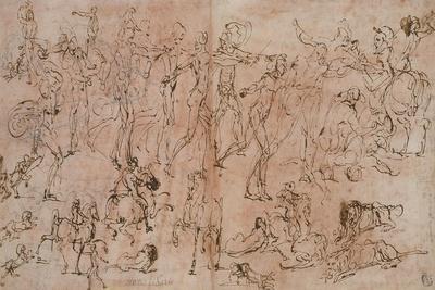 Studies of Warriors, Horsemen, and Lions, 1528-33