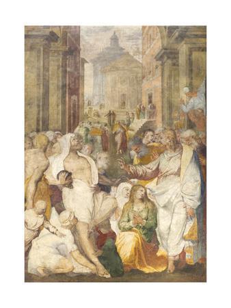 The Raising of Lazarus, 1538-40