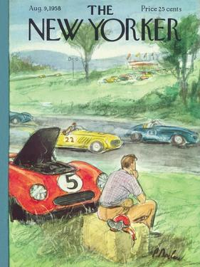 The New Yorker Cover - August 9, 1958 by Perry Barlow