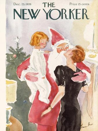 The New Yorker Cover - December 23, 1939