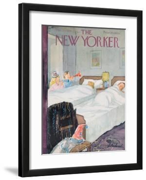 The New Yorker Cover - December 29, 1956 by Perry Barlow