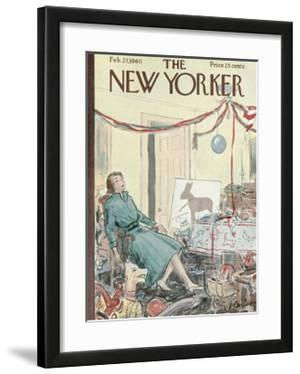 The New Yorker Cover - February 27, 1960 by Perry Barlow