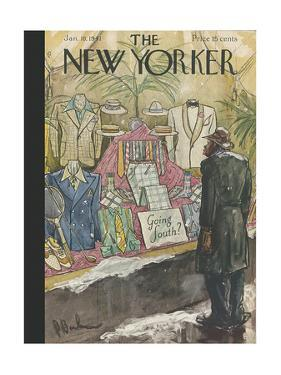 The New Yorker Cover - January 18, 1941 by Perry Barlow